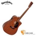 Sigma吉他▻ Sigma DMC-15E 可插電/標準型 單板民謠吉他 (DMC15E 全桃花心木/經典D桶身/面單板/電木吉他) 附贈吉他袋【源自Martin製琴工藝】