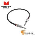 monster短導線 ► Monster P600-I-1.5 雙直頭 專業級 效果器專用短導線 1.5呎 (45公分)【效果器專用】