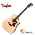 Taylor 210ce DLX 單板 可插電切角民謠吉他 墨廠 附硬盒【210-ce DLX/木吉他/DN桶身】