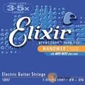 Elixir頂級電吉他弦- 7弦/七弦電吉他專用 Nanoweb(12057)(10-56)【Elixir進口弦專賣店】