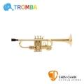 Tromba 小號 小喇叭  次中音 降B調 超輕量特製塑料  贈吹嘴、通條、背帶、琴盒 TP11GOLD