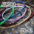 AURORA 美國進口黑色電吉他弦(09-42)【AURORA吉他弦專賣店/進口弦】