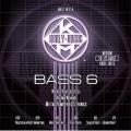 Bass弦►Kerly 冰火弦 KQXB-30125 美製 6弦電貝斯弦  (30-125)