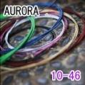 AURORA 美國進口紫色電吉他弦(10-46)【進口弦專賣店/電吉他弦】