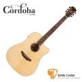 cordoba木吉他 ▷ Cordoba 美國品牌 D3-CE 單板可插電民謠吉他 (桶身: D桶身) 附原廠琴袋、PICK×2、移調夾、背帶、導線