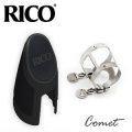 美國 Rico 豎笛/黑管銀色束圈組 (H型金屬束圈+新款吹嘴蓋)【HCL1S】
