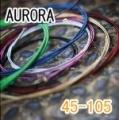 AURORA 美國進口橘色電貝斯弦(45-105)【AURORA貝斯弦專賣店/進口貝斯弦】