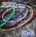 AURORA 美國進口藍色電吉他弦(09-42)【吉他弦專賣店/進口弦】