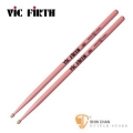 打擊樂器 ► ViC FiRTH 5AP 粉紅色胡桃木鼓棒 5A 美國製【5A Pink】