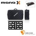 美國 MONO PEDALBOARD MEDIUM 黑色中型效果器盤 +  TOUR 2.0 中型效果器袋 軍事化防震防潑水【PFX-PB-M-BLK】