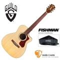 Guild吉他> 美國經典品牌 Guild OM-140CE 可插電切角全單板吉他/OM桶/Fishman拾音器(雲杉面板/非洲桃花心木側背板)附Guild原廠吉他袋/軟Case 總代理公司貨
