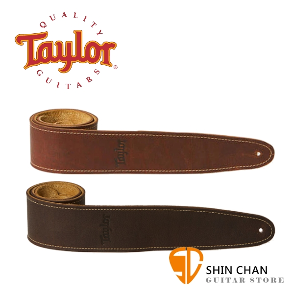 Taylor Leather 皮革背帶 適用民謠吉他/電吉他/電貝斯【型號:TL250-03/TL250-05】