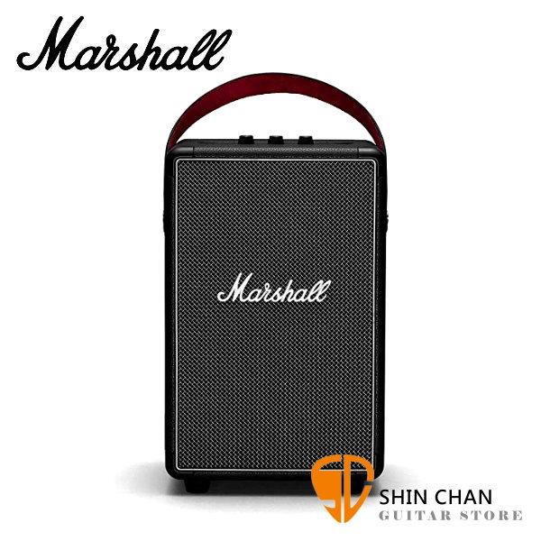 Marshall Tufton 攜帶式藍牙喇叭 經典黑 / IPX2防水 戶外可用 藍芽音響 台灣公司貨
