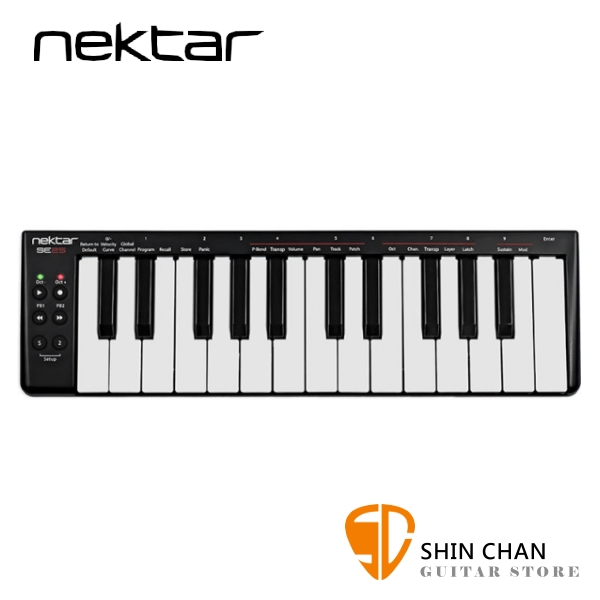 Nektar SE25 主控鍵盤/MIDI鍵盤 25鍵/25key 原廠公司貨/一年保固【SE-25】