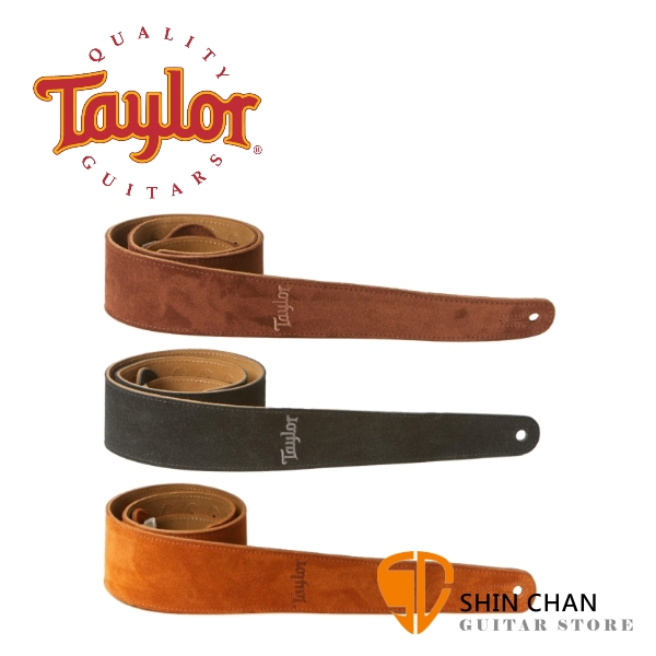Taylor Embroidered Suede 麂皮背帶 適用民謠吉他/電吉他/電貝斯【型號:TS250-05/TS250-06/TS250-07】