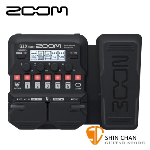 ZOOM G1X FOUR 電吉他專用綜合效果器 表情踏板款 原廠公司貨 一年保固【Guitar Effects Pedal】