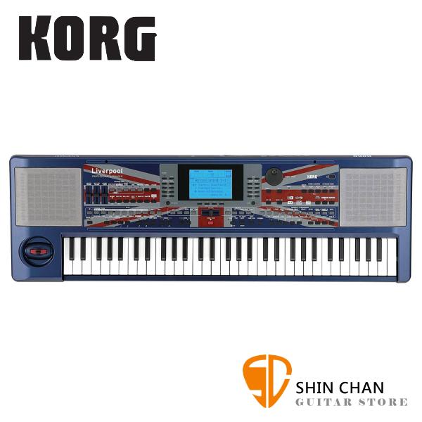 KORG Liverpool 60年代利物浦伴奏風格 61鍵 專業編曲鍵盤【迷你鍵盤】