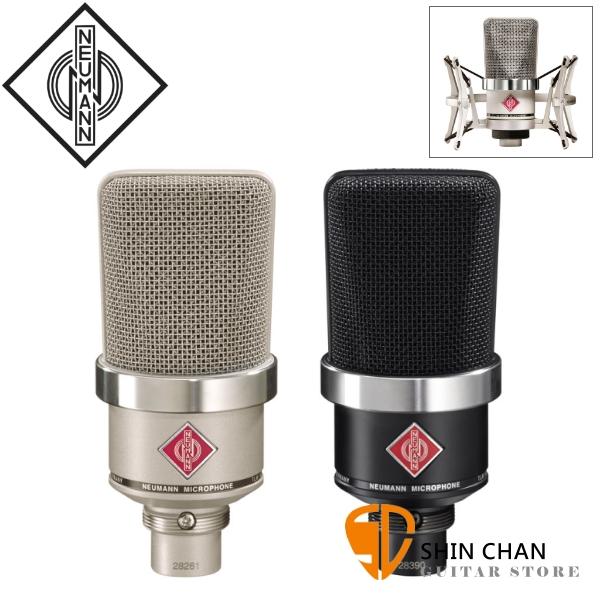 德國 紐曼 Neumann TLM 102 Studio Set 電容式麥克風 心形指向 適用錄音室人聲 附防震架 TLM-102 台灣公司貨保固