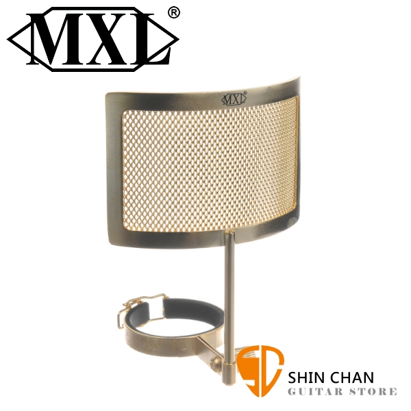 美國品牌 MXL PF-005-G 金屬網 防噴麥/口水罩 金色【適用V67G / V67i / V67i tube 】