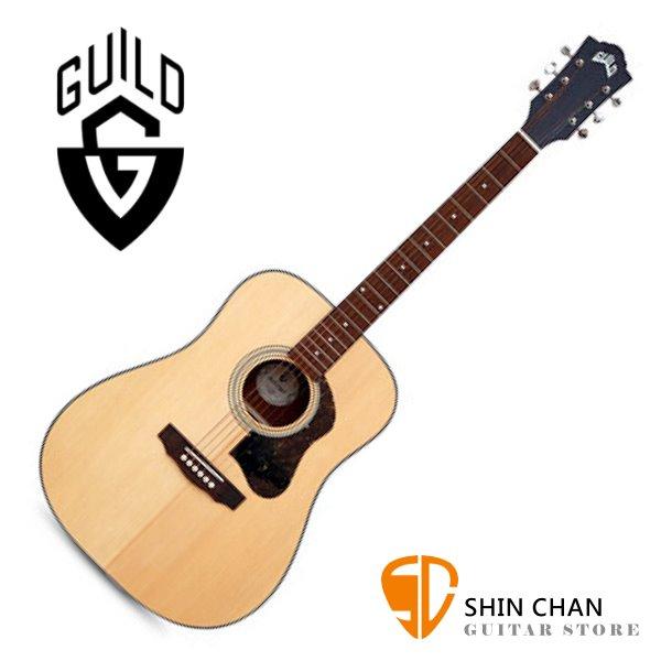 Guild 美國吉他品牌 Guild D-340 雲杉面單板 / 桃花心木側背板 附 Guild 原廠吉他厚袋 台灣公司貨 D340