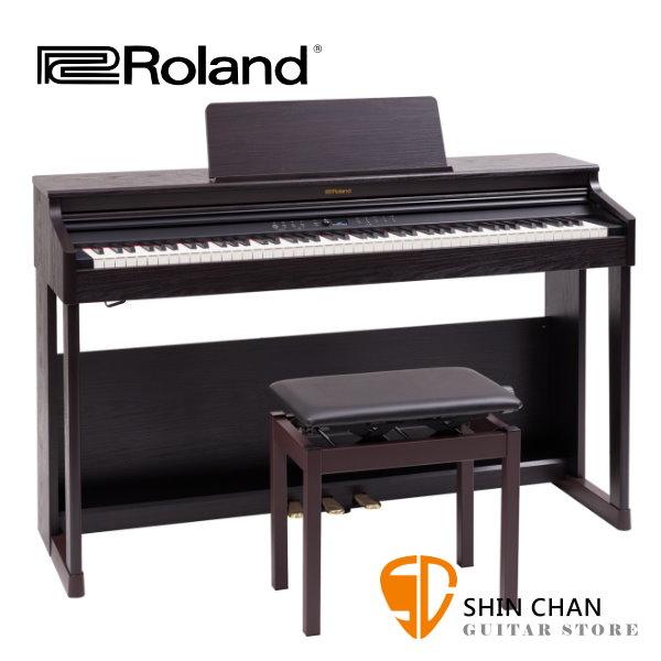 Roland RP701 電鋼琴 88鍵 / 滑蓋式 深玫瑰木色 附原廠琴架 踏板 鋼琴椅 台灣樂蘭公司貨