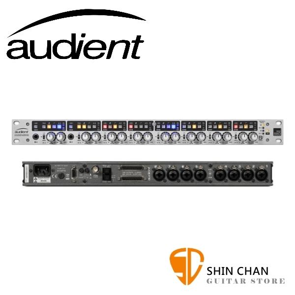 Audient ASP880 8軌 麥克風前級 內建ADC(類比數位轉換器)【1U機櫃大小】