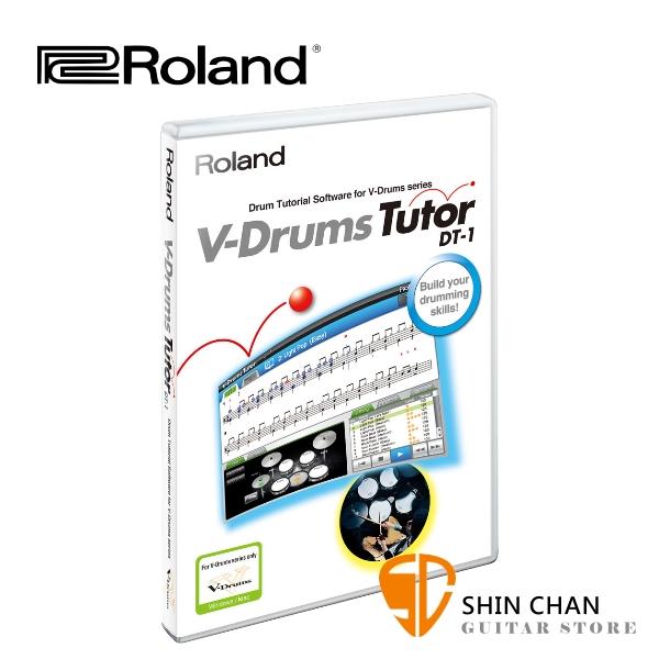 Roland 樂蘭 DT-1 V-Drums Tutor 電子鼓教練軟體 專為V-Drums設計 相容所有Roland V-Drums電子鼓【讓你最快進入打鼓軌道的軟體】