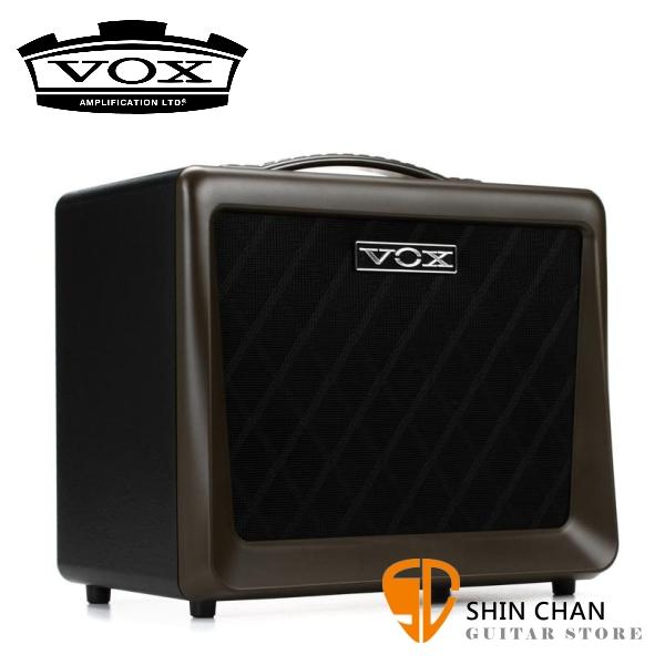 VOX VX50-AG 50瓦 真空管 木吉他專用音箱 內建麥克風幻象電源 自彈自唱 吉他麥克風 雙輸入【VX50】