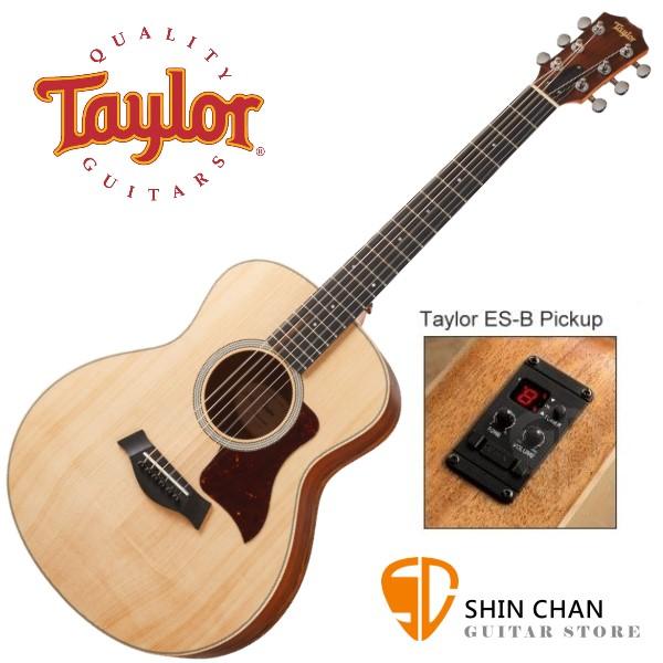 Taylor GS Mini E LTD Ovangkol 面單板 36吋 可插電木吉他【GS桶身/附原廠琴袋/內建調音功能/台灣公司貨】