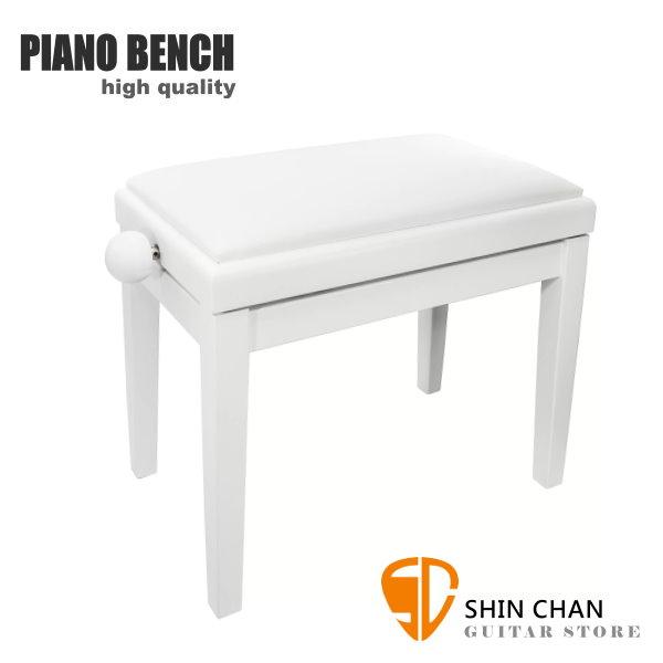PIANO BENCH 白色鋼琴椅 PJ018 可調整高度鋼琴椅/電鋼琴椅/電子琴椅/piano琴椅/Keyboard椅