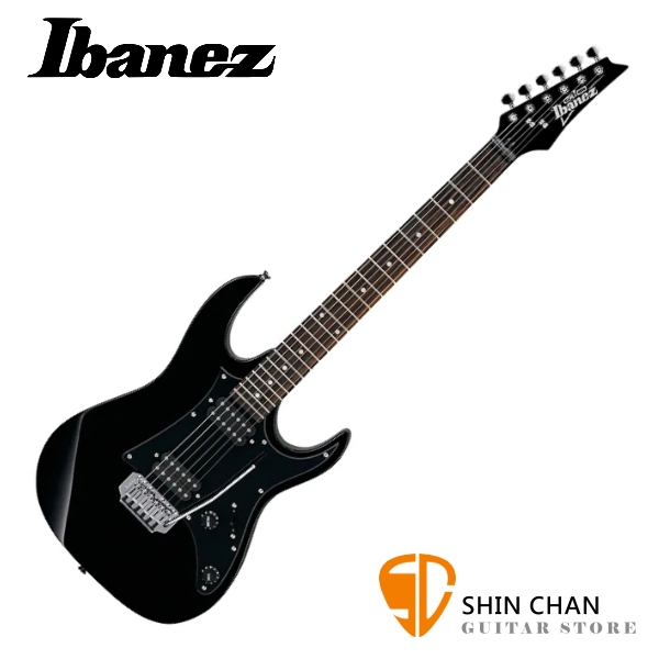 Ibanez GRX20EXB 小搖座電吉他 附琴袋、背帶、Pick×2、琴布、導線、搖桿、調整工具 GRX20