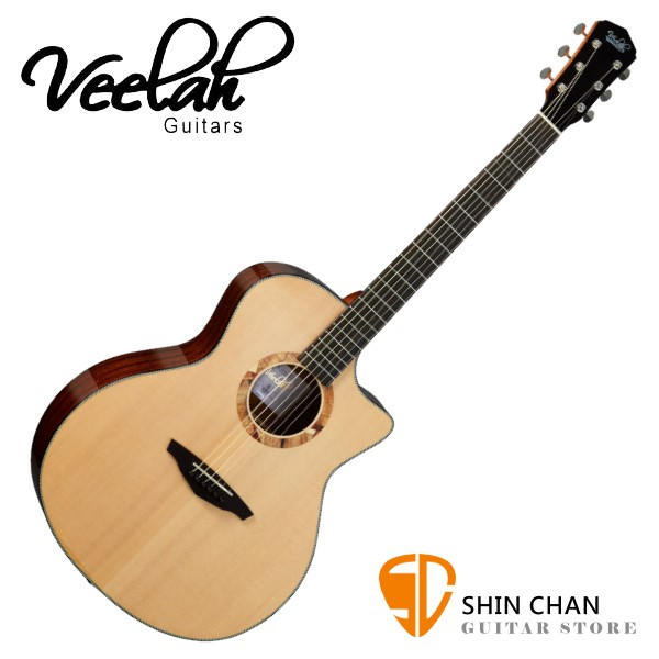 Veelah V2-GAC 單板民謠吉他 桶身:GA桶 雲杉面板 【附贈Veelah原廠琴袋/全配件/台灣公司貨】