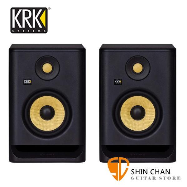 KRK Rokit RP5G4 主動式監聽喇叭/5吋錄音室專用(黑色/一對二顆)台灣公司貨保固