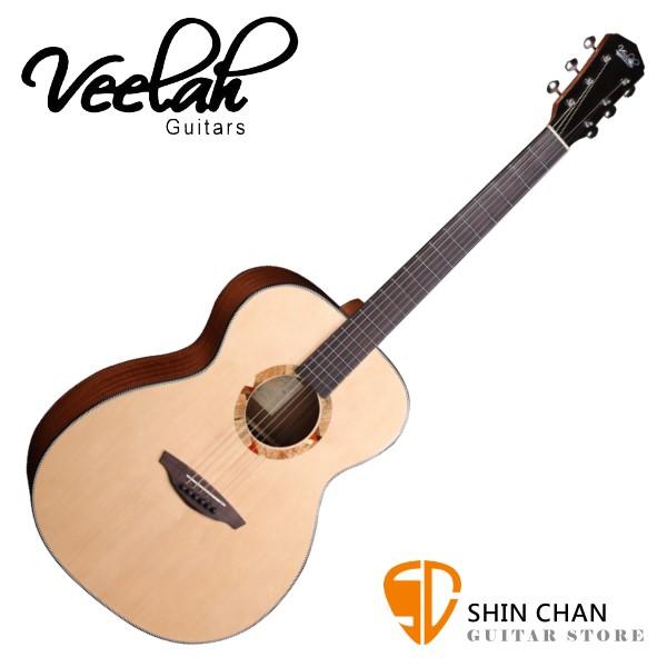 Veelah V2-OM 單板民謠吉他 桶身:OM桶 雲杉面板 【附贈Veelah原廠琴袋/全配件/台灣公司貨】