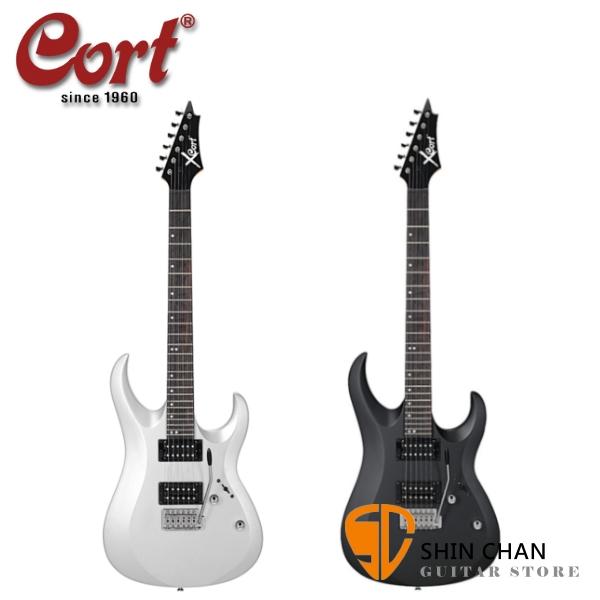韓國 Cort X-1 小搖座電吉他 雙雙拾音器  附琴袋、搖桿、背帶、導線、Pick×2、琴布【Cort專賣店/X1】