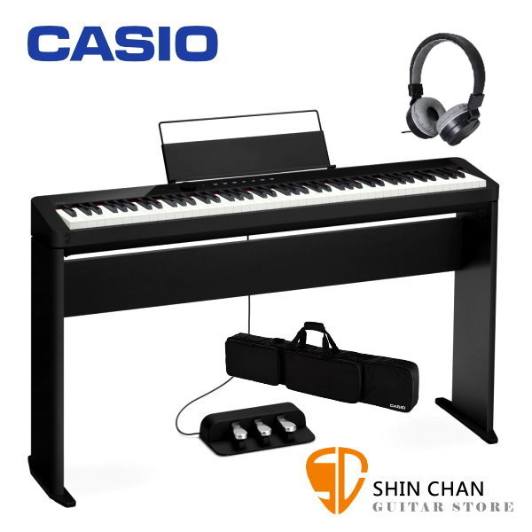 Casio PX-S1000 黑色 電鋼琴 含原廠腳架 / 三音踏板 / 琴袋 88鍵 PXS1000 台灣卡西歐公司貨