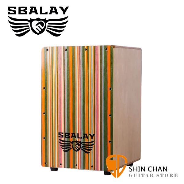 SBALAY SCJ-HPL2 木箱鼓 附原廠雙肩背袋/防滑座墊 原廠公司貨