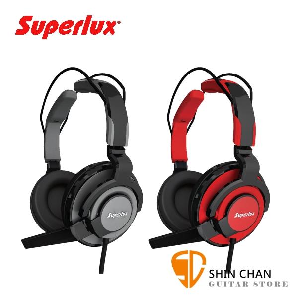 Superlux HMC631 專業級電競專用 耳罩式耳機麥克風【線上遊戲/視訊會議/遠端教學/耳麥】
