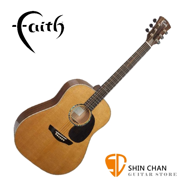 Faith 英國名牌 FG1R-NPX 41吋 全單板 民謠吉他 附贈吉他硬盒 CASE 印尼製【木吉他】
