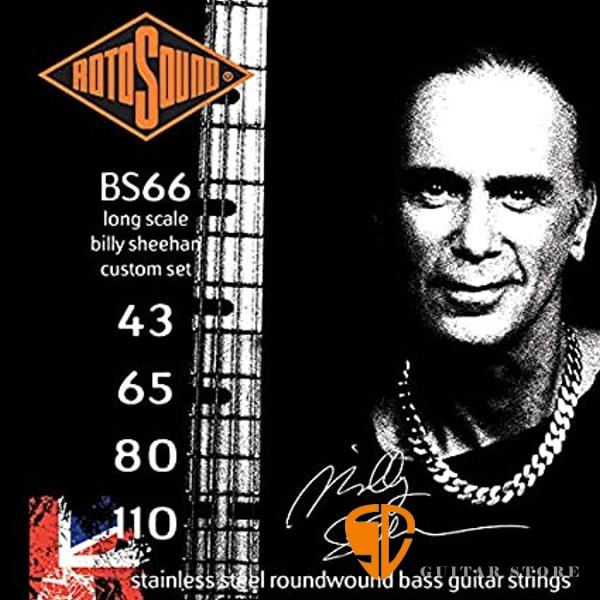 ROTOSOUND BS66 電貝斯弦 (43-110) Billy Sheehan簽名弦【英國製/BASS弦/BS-66】