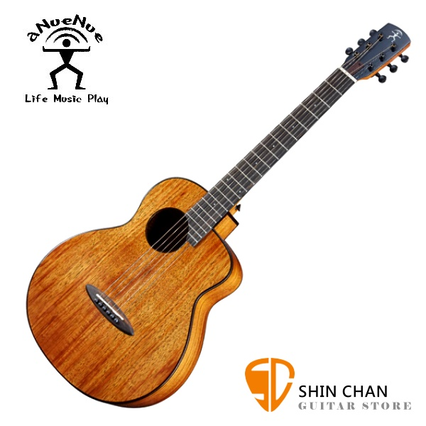 aNueNue M32 限量 夏威夷相思木 36吋小吉他 全相思木/ 面單板 附小小收納袋、PICK、貼紙、胸章、琴布、原廠琴袋