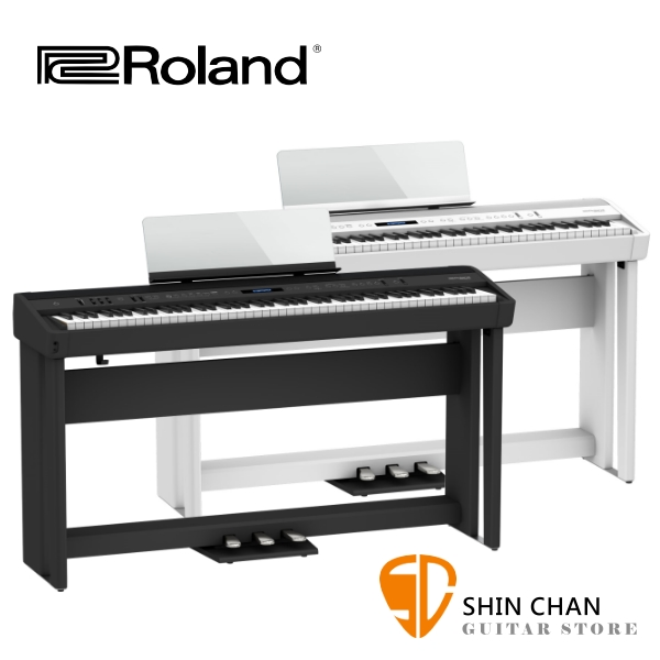 Roland FP-90X 樂蘭 88鍵 數位電鋼琴 附原廠琴架、三音踏板、中文說明書、另附琴椅 支援藍芽連線【FP90X】