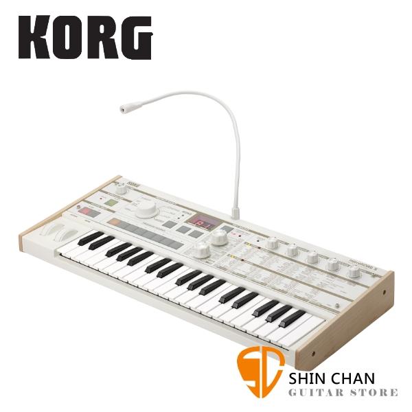 Korg MicroKORG S MK-1S 電子合成器 原廠公司貨【MK1S】