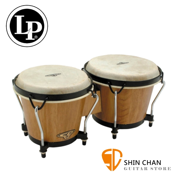 LP品牌 LP-CP221-DW Bongo 邦哥鼓 6吋+7吋【LP-CP221 DW/拉丁鼓/手鼓/Latin Percussion】