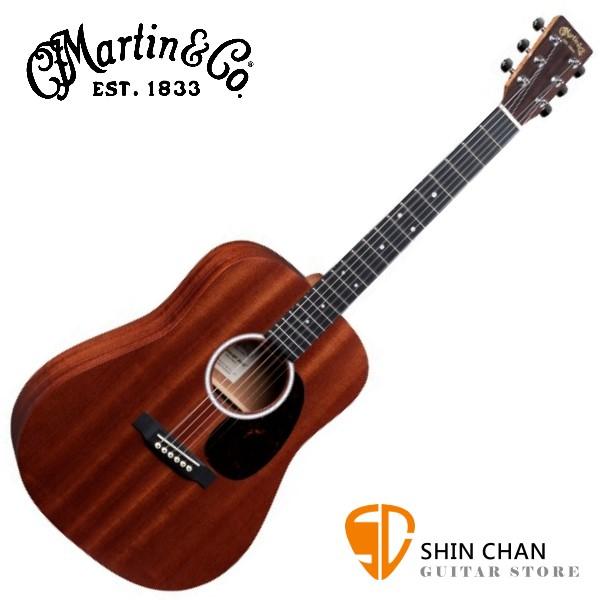 Martin DJR10E SAPELE 38吋可插電全單板小吉他 Dreadnought Junior 沙比利木 另贈琴袋(DJR-10E)