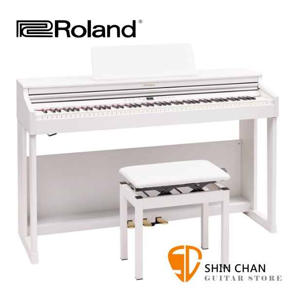 Roland RP701 電鋼琴 88鍵 / 滑蓋式 白色 附原廠琴架 踏板 鋼琴椅 台灣樂蘭公司貨