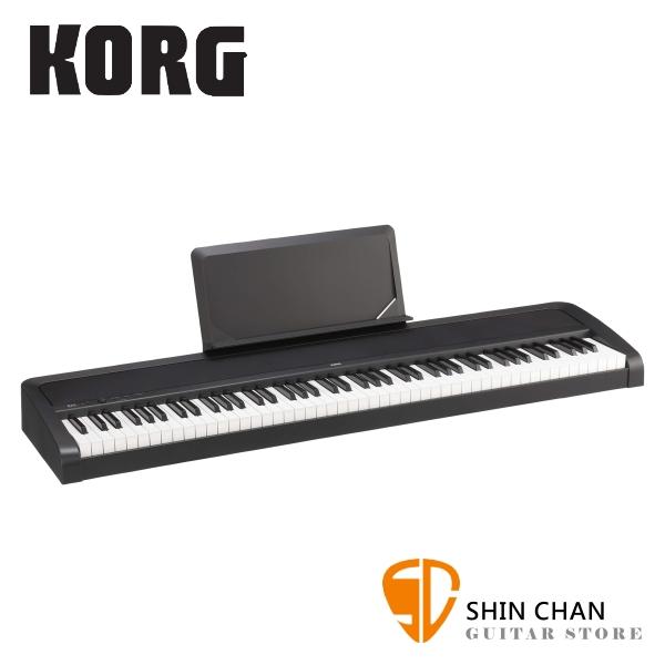 Korg B2N 88鍵 數位電鋼琴/數位鋼琴 無琴架款 輕巧琴鍵設計【原廠譜板,單音踏板,原廠公司貨,兩年保固再附贈多樣配件 】