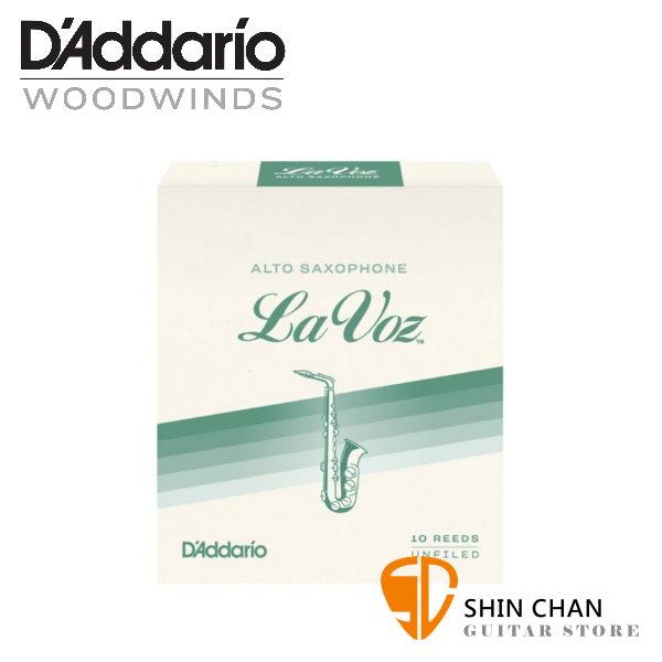 竹片►美國 RICO La Voz 中音 薩克斯風竹片  Medium (2.5號)  Alto Sax (10片/盒)