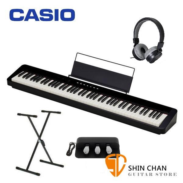 (SC特賣)Casio PX-S1000 電鋼琴 88鍵 黑色 卡西歐 PXS1000 贈 台灣製 X琴架 / 三音踏板 / 耳罩式耳機