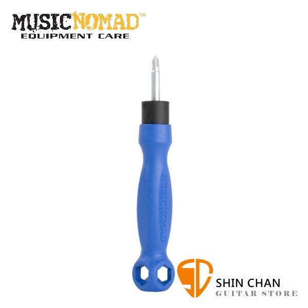 美國 MusicNomad MN227 多功能章魚起子/8合1 【電吉他、電貝斯、效果器適用/MN-227】